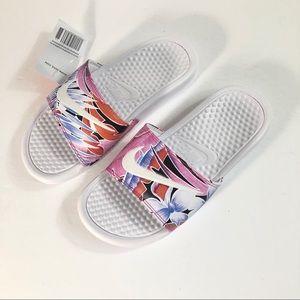 New NIKE Women's Benassi JDI Print Slide Size 5